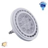 Λαμπτήρας LED AR111 Globostar 36 Μοίρες 12 Watt 230v Θερμό