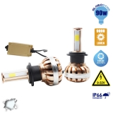 LED HID KIT H7 45 Watt 4500 Lumen 9-32 Volt DC 6000k