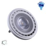 Λαμπτήρας LED AR111 Globostar 12 Μοίρες 15 Watt 230v Ψυχρό