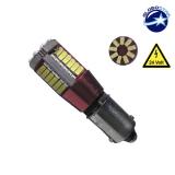 Λαμπτήρας LED BA9S 57 SMD 3014 Can Bus 24 Volt Ψυχρό Λευκό