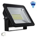 Προβολέας LED Globostar 100 Watt 230v Ημέρας