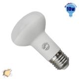 Λαμπτήρας LED R63 με Βάση E27 10 Watt 230v Θερμό GloboStar 01747