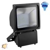 Προβολέας LED Globostar 200 Watt 230v Θερμό