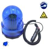 Φάρος Αστυνομίας 100 LED 10-30 Volt DC Μπλε με Μαγνήτη