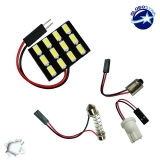 Πλακέτα LED PCB με 12 smd 5630 Ψυχρό Λευκό