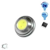 G4 1 COB LED 2 Watt 12 Volt Ψυχρό Λευκό GloboStar 88957
