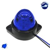 LED Πλευρικά Φώτα Όγκου Φορτηγών BULLET IP66 6 SMD 24 Volt Μπλε
