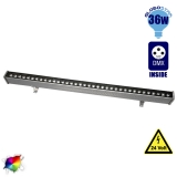 LED Wall Washer 36 Watt 100cm 24v RGB DMX 512