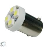 Λαμπτήρας LED Ba9s με 4 SMD 1210 Ψυχρό Λευκό