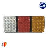 Πίσω Φανάρι Φορτηγού 60 LED 24 Volt Universal IP66 GloboStar 75496