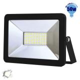Προβολέας LED Slim Pad Globostar 50 Watt 230v Ημέρας