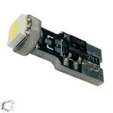 Λαμπτήρας LED T10 Can Bus με 1 SMD 5050 Ψυχρό Λευκό