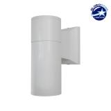 Φωτιστικό Τοίχου Wally Λευκό Αλουμινίου IP65 Down Gu10