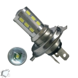 Λαμπτήρας LED H4 με 18 SMD 5630 Samsung Chip + 1 x 5 Watt CREE LED 6000k 9-32V