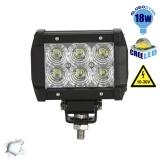 Mini Μπάρα Φωτισμού LED 18 Watt 10-30 Volt DC Ψυχρό Λευκό GloboStar 29997