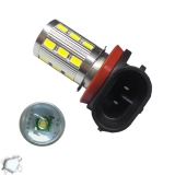 Λαμπτήρας LED H8 με 18 SMD 5630 Samsung Chip + 1 x 5 Watt CREE LED 6000k 9-32V
