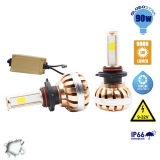 LED HID KIT HB4 9006 45 Watt 4500 Lumen 9-32 Volt DC 6000k
