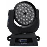 Κινούμενη Ρομποτική Κεφαλή WASH 36 x 10 Watt CREE LED RGBW Zoom 12°-75° Globostar