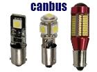 Λάμπες LED T4W BA9S Can Bus