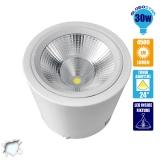 LED Φωτιστικό Spot οροφής Down Light 30 Watt Ψυχρό Λευκό GloboStar 93005