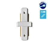 Connector Συνδεσμολογίας Γιώτα (Ι) για Λευκή Ράγα Οροφής GloboStar 93022