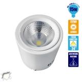 LED Φωτιστικό Spot οροφής Down Light 15 Watt Λευκό Ημέρας