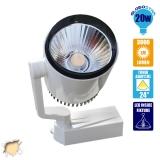 LED Φωτιστικό Spot Ράγας 20 Watt Θερμό Λευκό GloboStar 93015