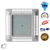 Φωτιστικό Οροφής για Βενζινάδικα Gas Station 140 Watt Ψυχρό Λευκό 5000k GloboStar 02501
