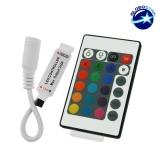 LED RGB Controller με Καλώδιο και Ασύρματο Χειριστήριο RF 12 Volt 72 Watt