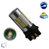 Λαμπτήρας LED PW24W Can Bus με 8 SMD 5630 Samsung Chip +3 Watt Ψυχρό Λευκό