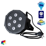 LED PAR Κεφαλή 7x10 Watt LED RGBW DMX 512