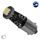 Λαμπτήρας LED Ba9s Can Bus με 1 SMD 5050 Ψυχρό Λευκό GloboStar 22000
