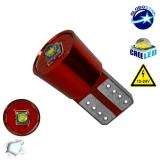 Λαμπτήρας LED T10 Can Bus με 1 CREE LED 12v 6000k GloboStar 04476