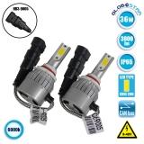 LED HID Kit HB3 9005 36 Watt 8-48 Volt DC 3800 Lumen 6000k C6 Economy Line GloboStar 06666