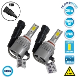 LED HID Kit H10 36 Watt 9-36 Volt DC 3600 Lumen 6000k C6 Economy Line GloboStar 06669