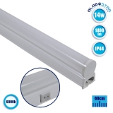 T5 Φωτιστικό LED 14 Watt 230v 60cm Ψυχρό Λευκό 6000k IP44 GloboStar 54003