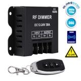 Ασύρματο LED Dimmer 12-24 Volt 30 Ampere 360/720 Watt GloboStar 50042