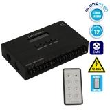 LED DMX512 RGB Controller 12 Channels 12V 720 Watt - 24V 1440 Watt GloboStar 15140