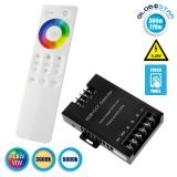 Ασύρματος Touch LED Controller RGBW+WW 360-720 Watt 12-24 Volt RF 2.4G GloboStar 04060