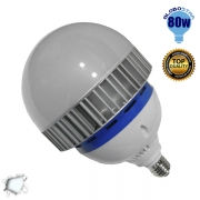 Λαμπτήρας E27 High Bay LED 80 Watt Ψυχρό Λευκό 6000k GloboStar 54682