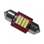Σωληνωτός LED 31mm 12v Can Bus με 4 SMD 7020 6000k GloboStar 55870