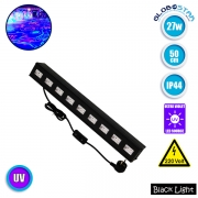 LED Μπάρα Φωτισμού UV Black Light 27 Watt 50cm GloboStar 05030