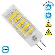 Λάμπα LED G4 5 Watt 12-24 Volt DC Ψυχρό Λευκό GloboStar 07435