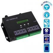 LED Digital Controller T8000PRO 8000 IC DMX512 SD CARD Profesional Series GloboStar 88771