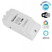 SONOFF 2 Channel Smart Home Switch WiFi - Ασύρματος Έξυπνος Διακόπτης Ράγας με 2 Κανάλια GloboStar 48453