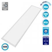 LED Panel Οροφής Ultra Slim 120x30cm Μοριακού Φωτισμού Milky 48 Watt Φυσικό Λευκό GloboStar 01807