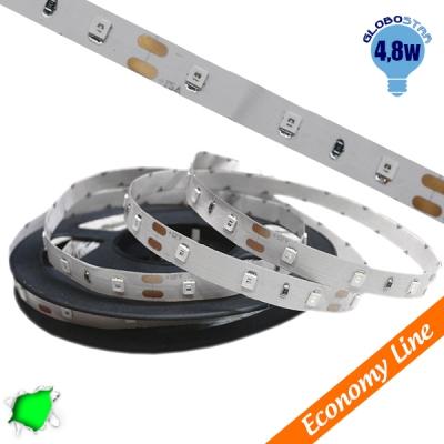 Eco Ταινία LED 4.8 Watt 12 Volt Πράσινο IP20 GloboStar 33405