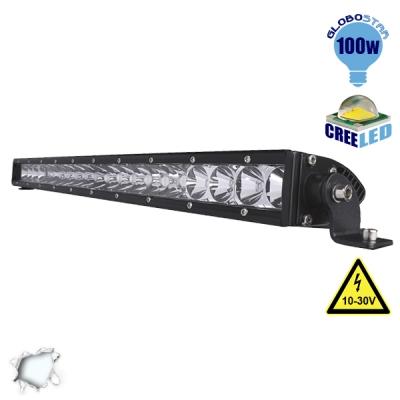 Μπάρα LED 100W CREE Combo 10-30v DC Ψυχρό Λευκό GloboStar 05188