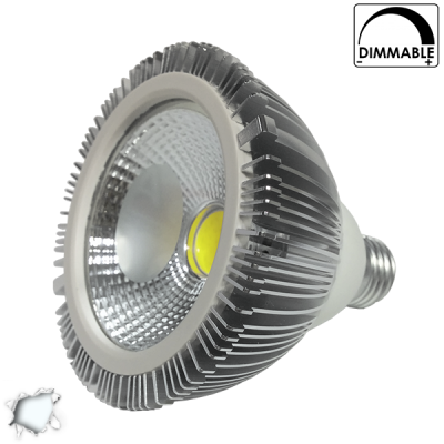 Λαμπτήρας PAR30 COB LED 15 Watt 220 Volt Ψυχρό Λευκό 6000K Dimmable GloboStar 56573