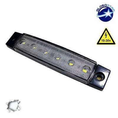 LED Φώτα Όγκου Φορτηγών IP66 Ψυχρό Λευκό GloboStar 77474